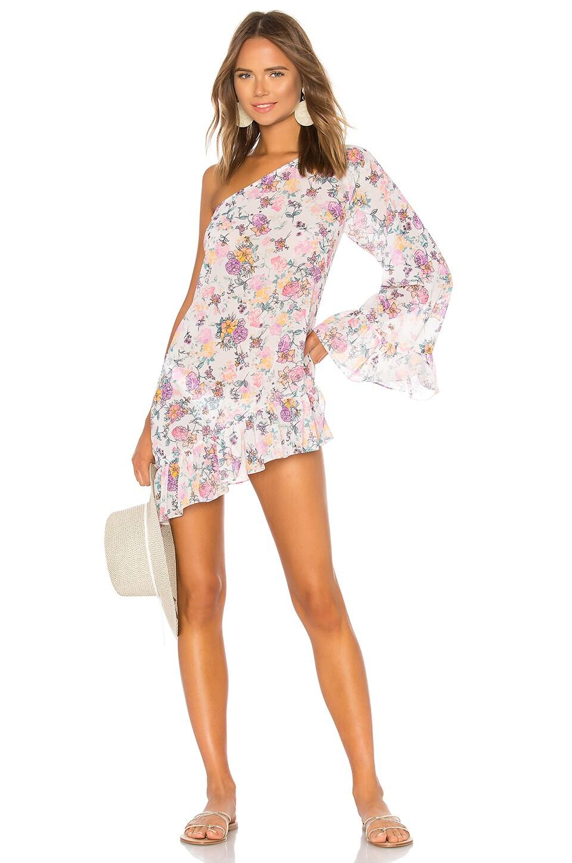 Tularosa Nala Mini Dress in Pastel Floral