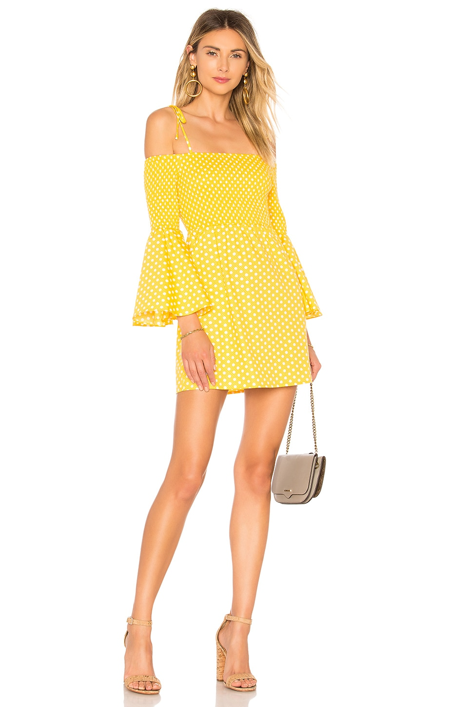 Tularosa The Social Dress in Pineapple
