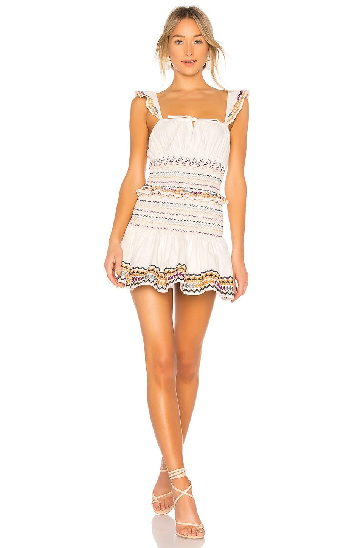 Tularosa Janine Dress in Ivory
