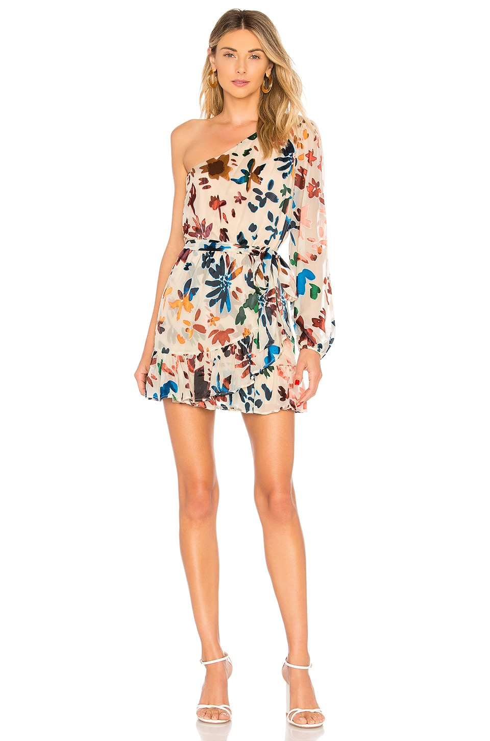 Tularosa Ina Dress in Ombre Floral