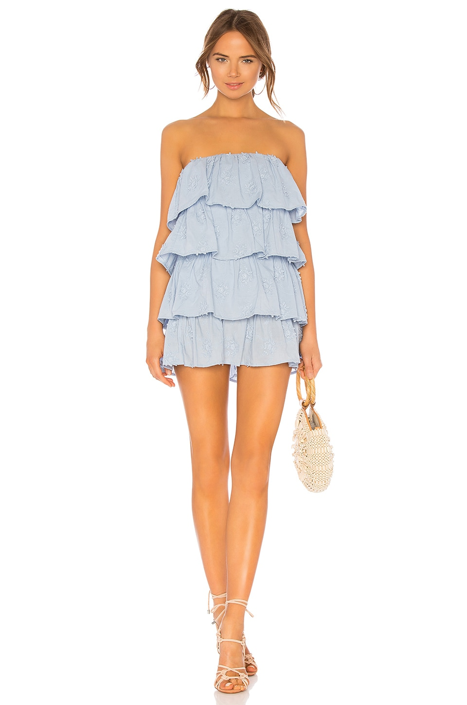 Tularosa Finley Dress in Light Blue