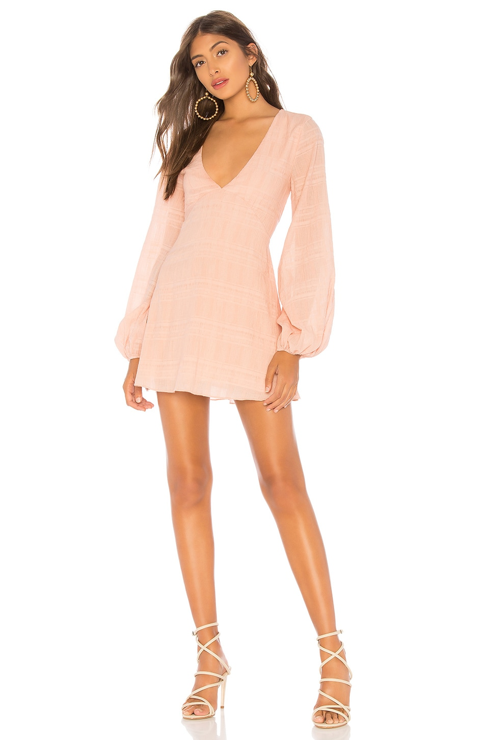 Tularosa Ryland Dress in Blush Pink