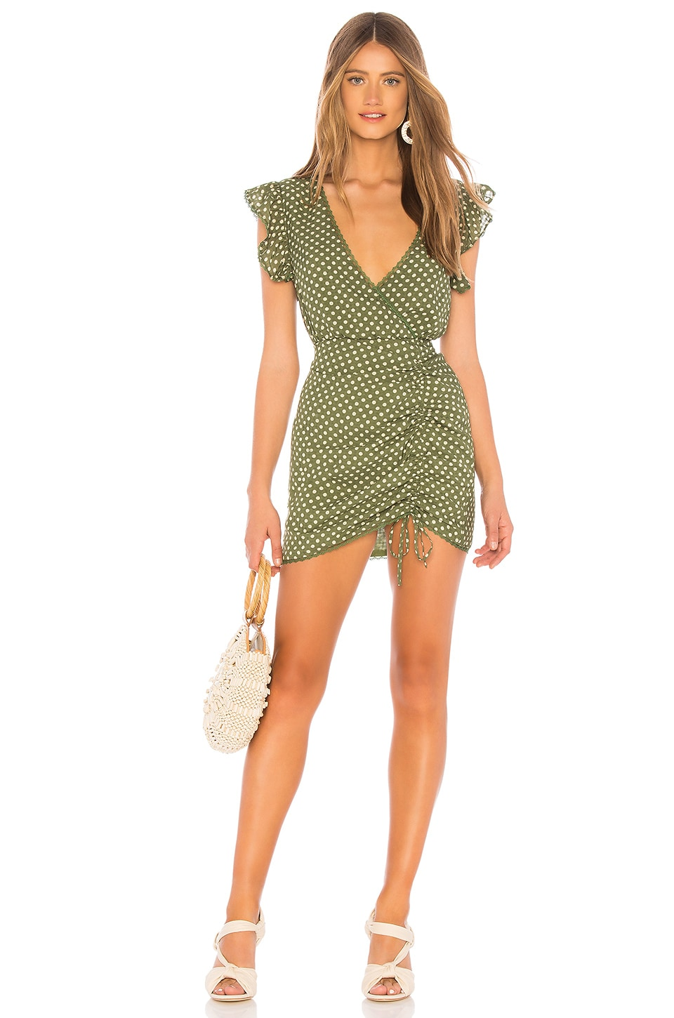 Tularosa Huntington Dress in Mint Green