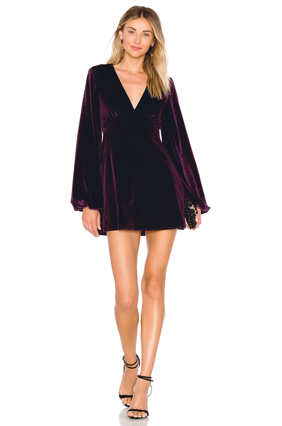 Tularosa Ryland Dress in Plum