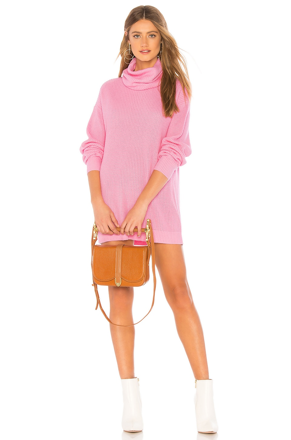 Tularosa Lenox Dress in Pink Rose