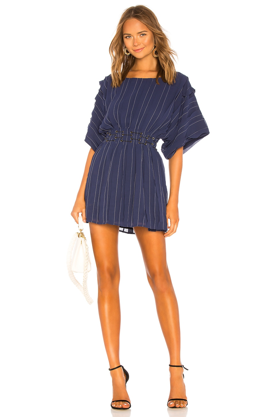 Tularosa Sienna Dress in Navy