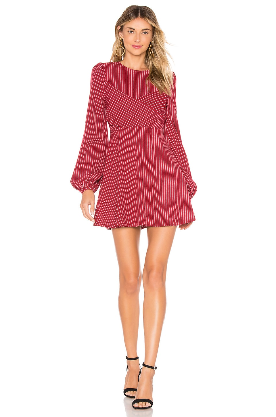 Tularosa Lina Dress in Ruby Red