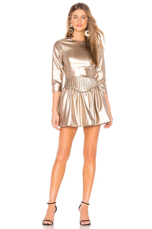Tularosa Margo Dress in Sandstone Brown
