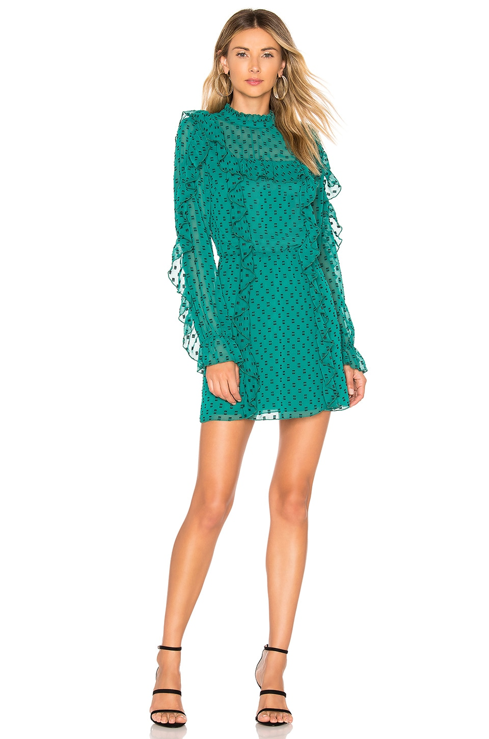 Tularosa Harlow Dress in Teal