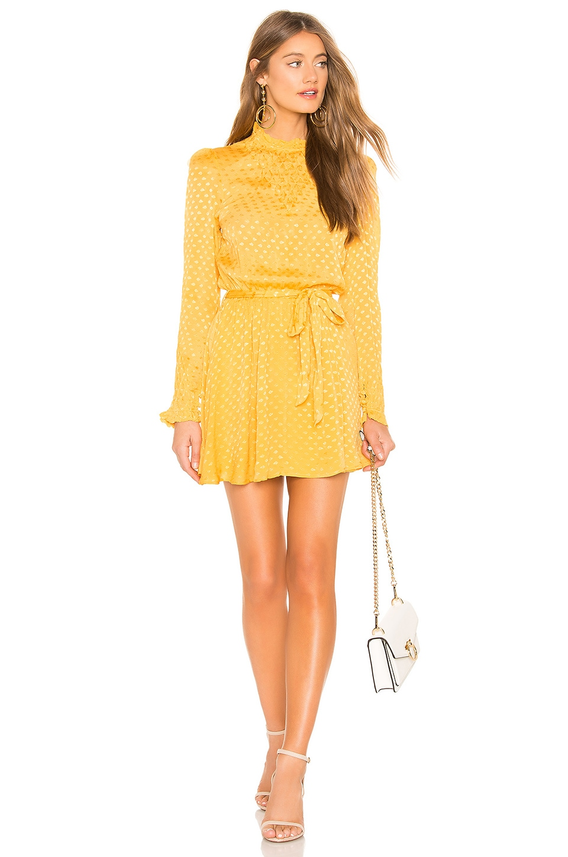 Tularosa Gianna Dress in Mustard