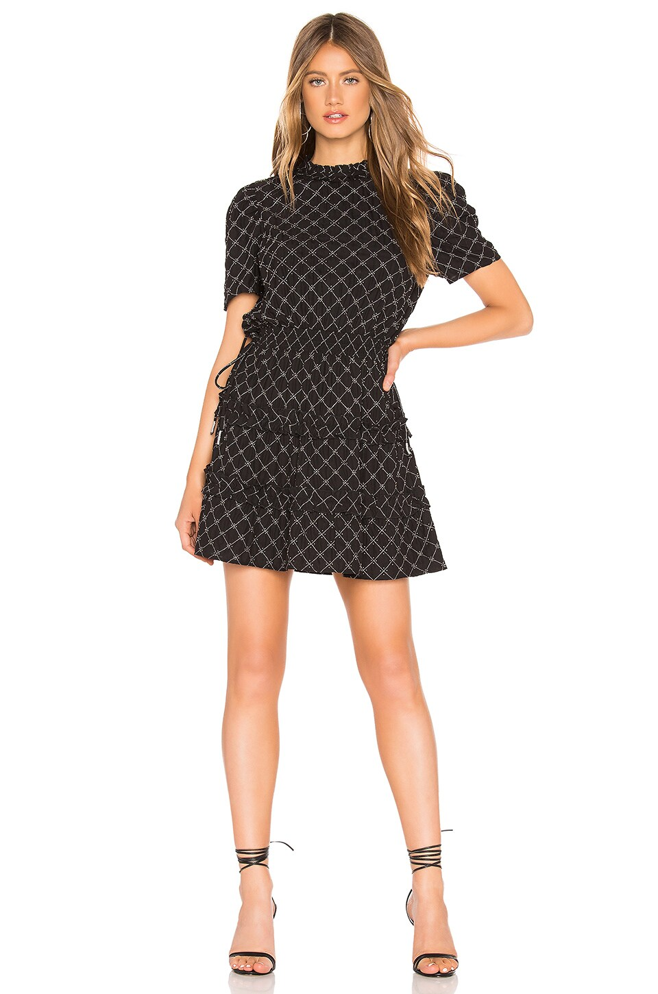 Tularosa Fiona Dress in Black