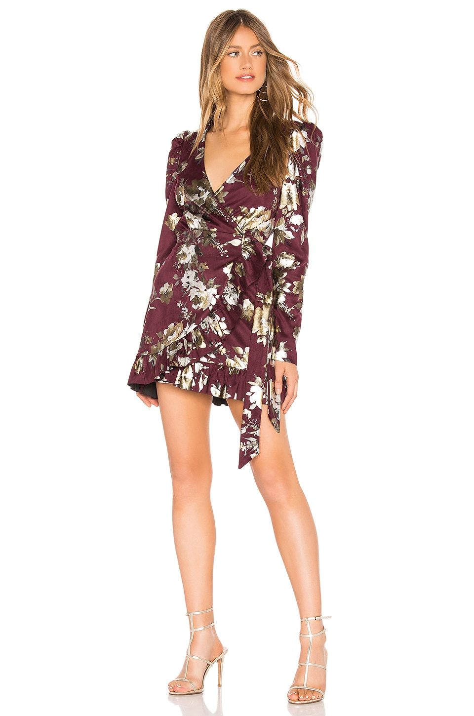 Tularosa Scout Dress in Maroon