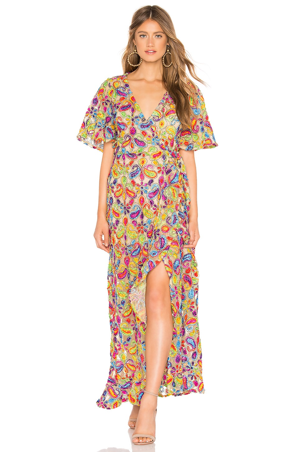 Tularosa Huntley Dress in Multi