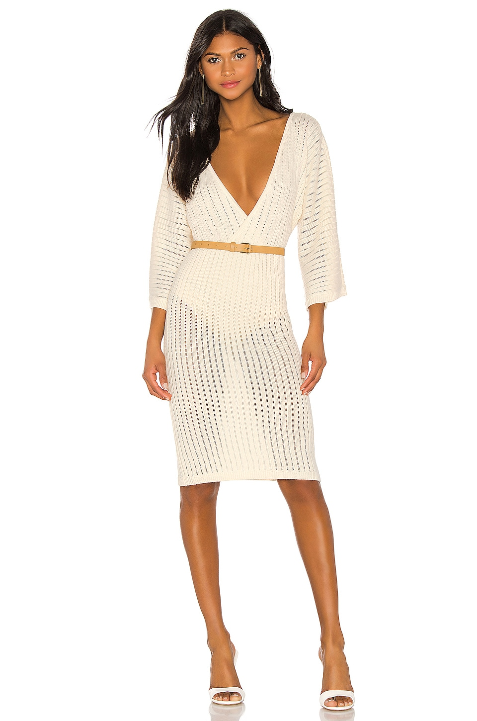 Tularosa Santal Dress in Ivory