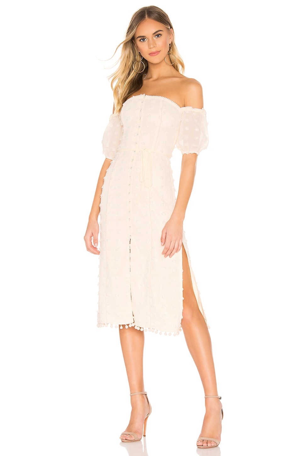 Tularosa Lori Dress in Ivory