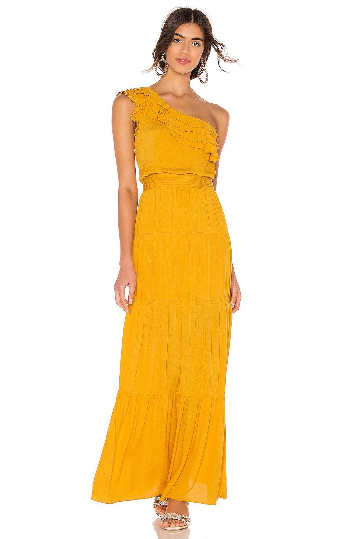 Tularosa Avery Dress in Yellow