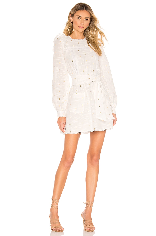 Tularosa Charlotte Dress in White
