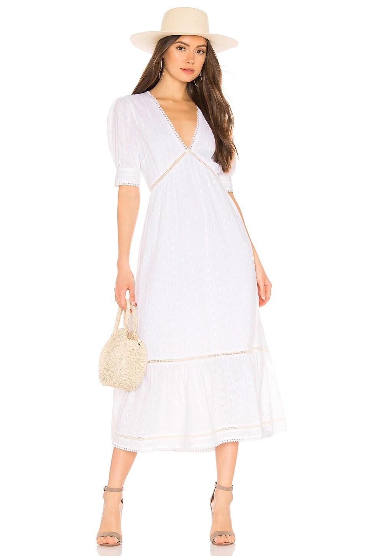Tularosa Lou Dress in White