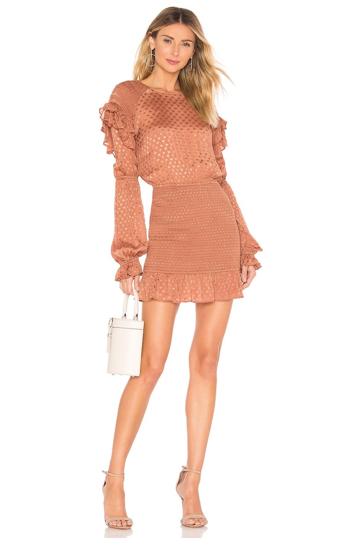 Tularosa Edie Dress in Copper