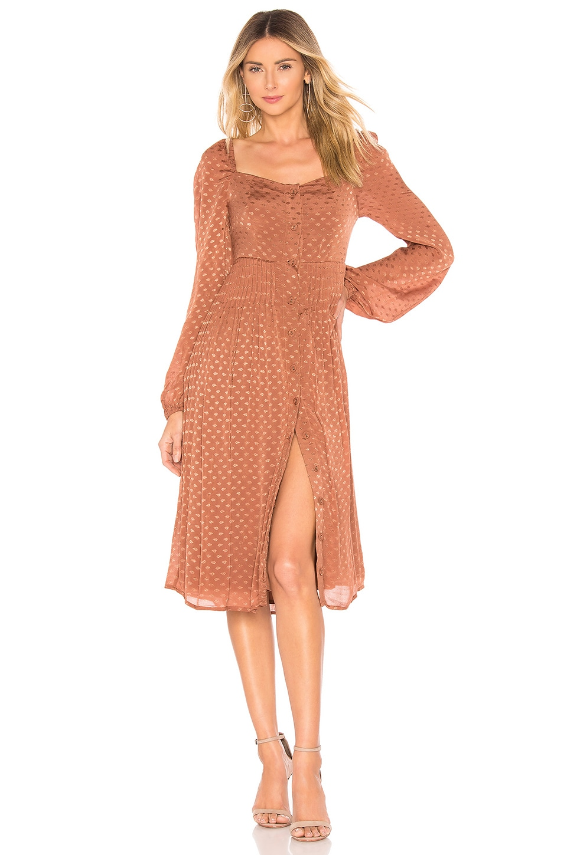 Tularosa Jodie Dress in Copper