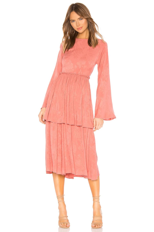 Tularosa Kennedy Dress in Dusty Rose
