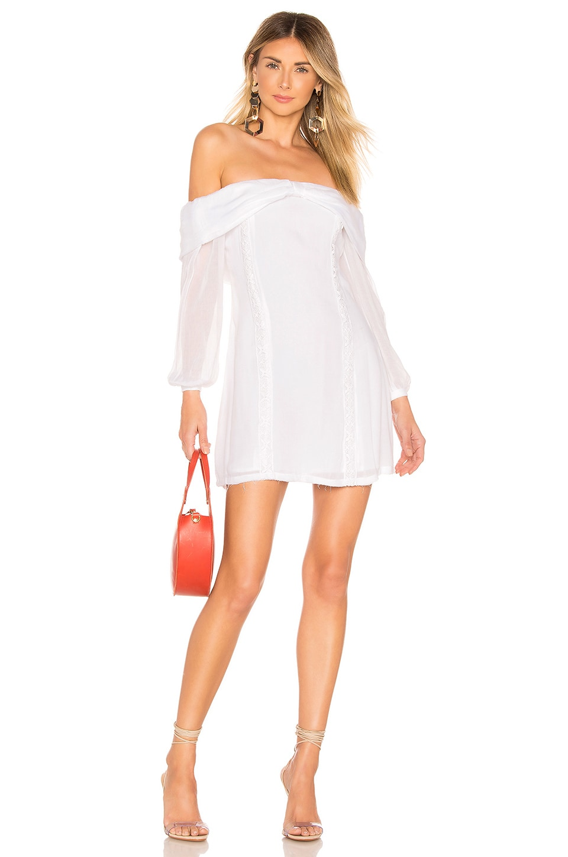 Tularosa Maddie Dress in Ivory