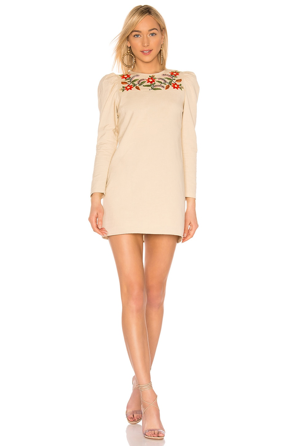 Tularosa Johnson Dress in Natural Ivory