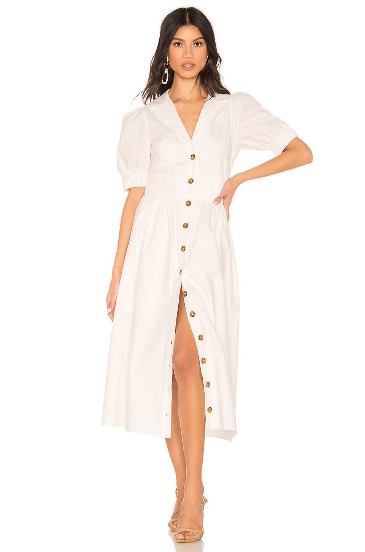 Tularosa Brianna Dress in White