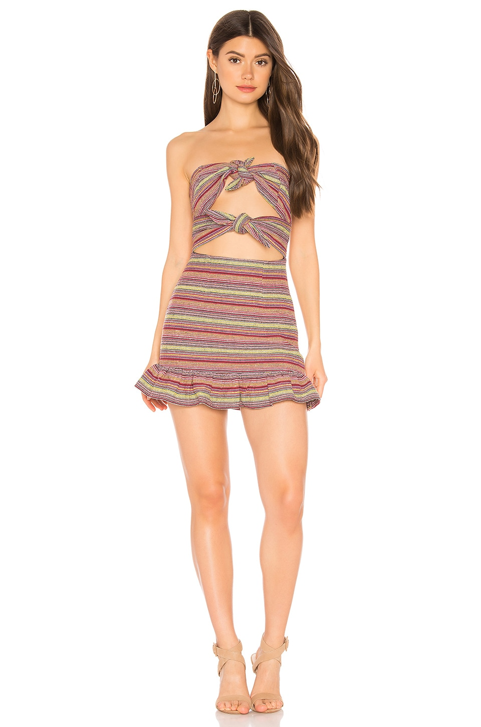 Tularosa Anna Dress in Multi