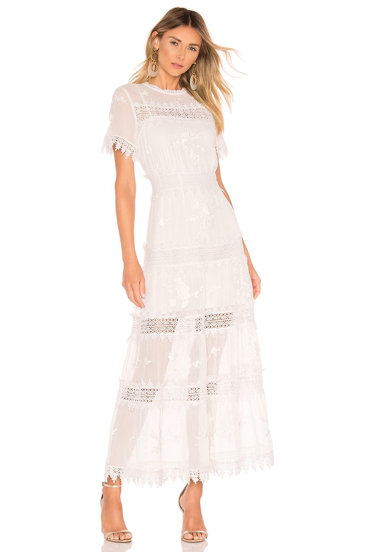 Tularosa Emmeline Dress in Ivory