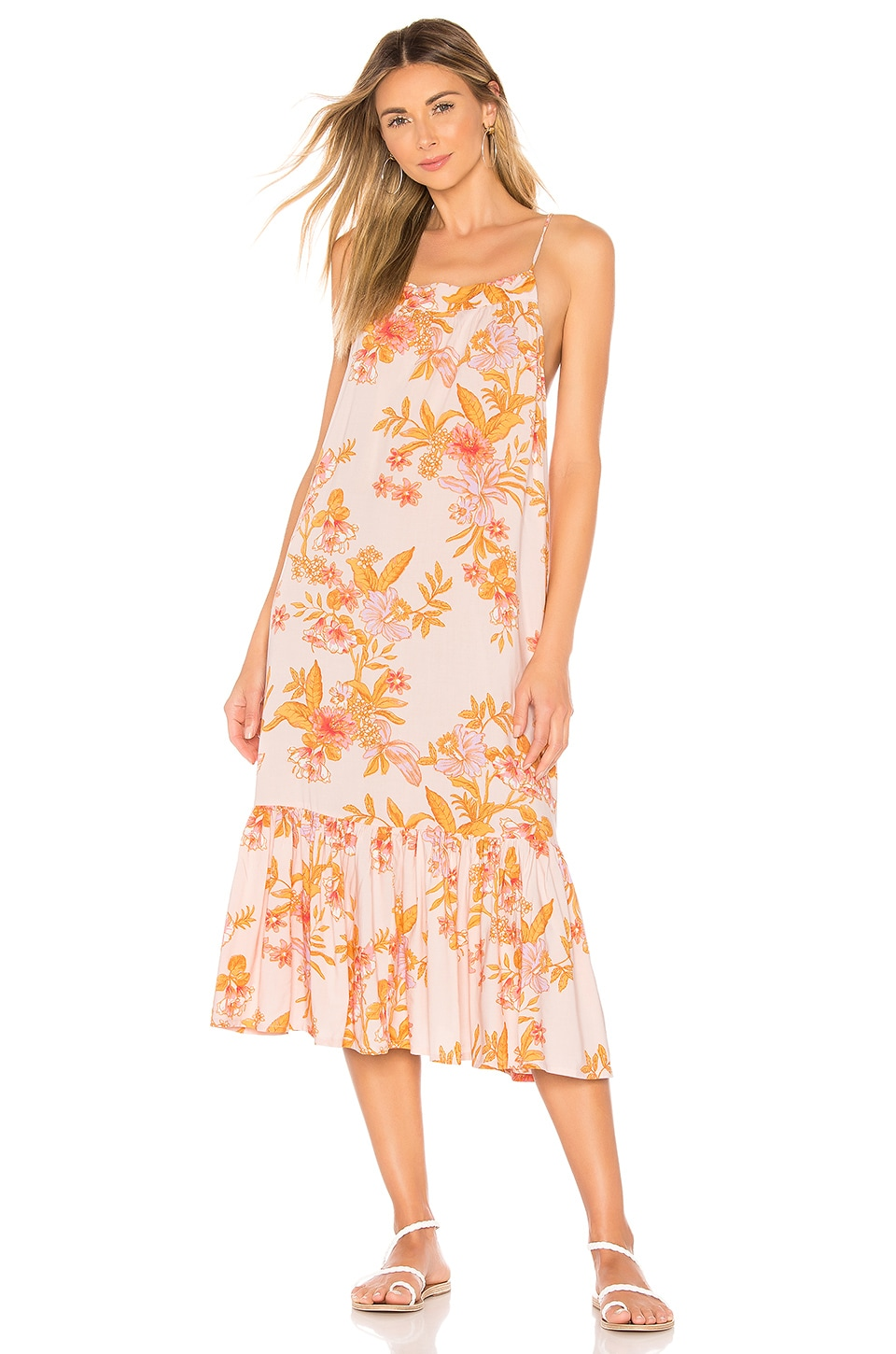 Tularosa Haels Dress in Pastel Garden Floral