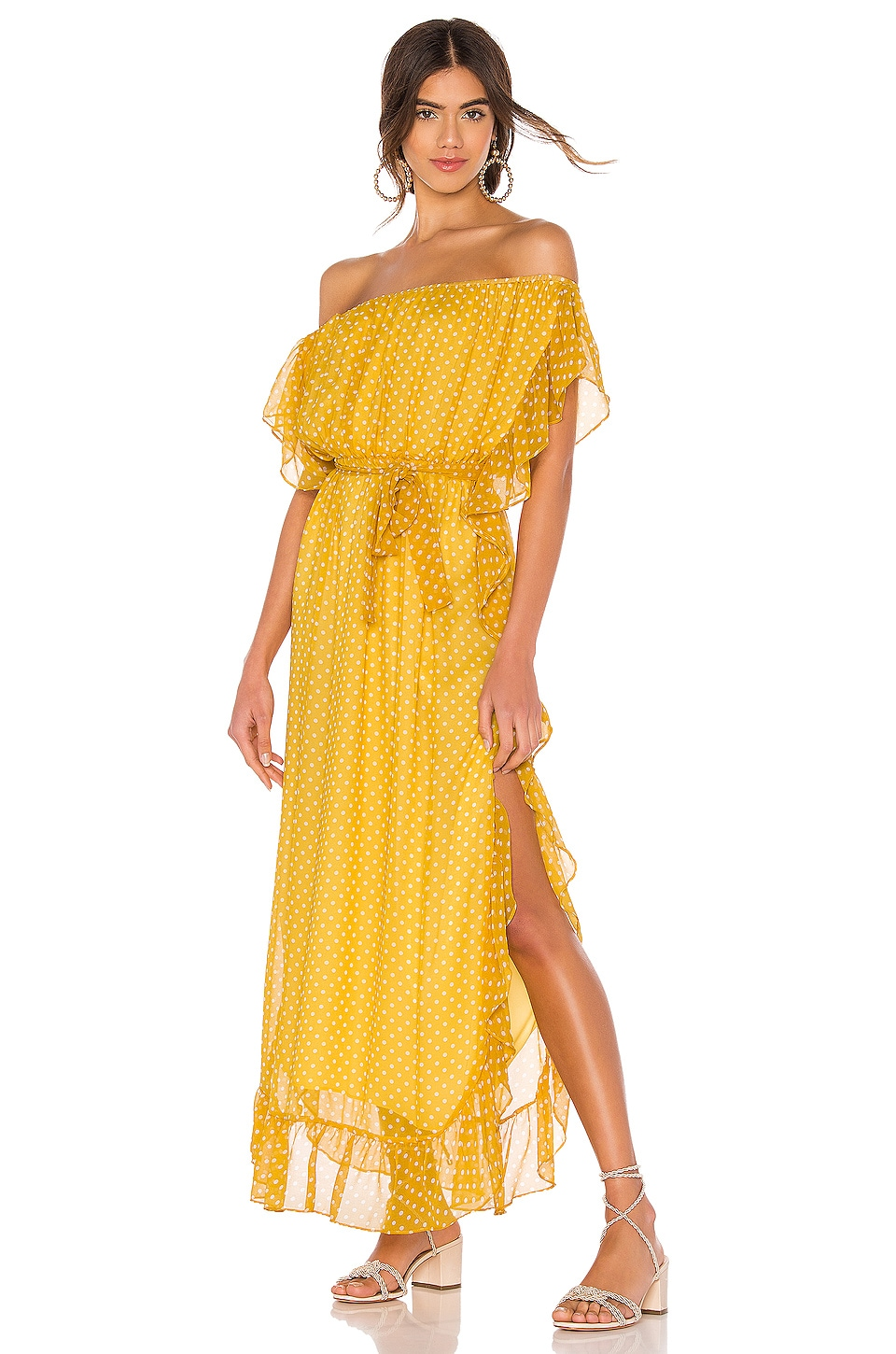 Tularosa Blaire Dress in Yellow