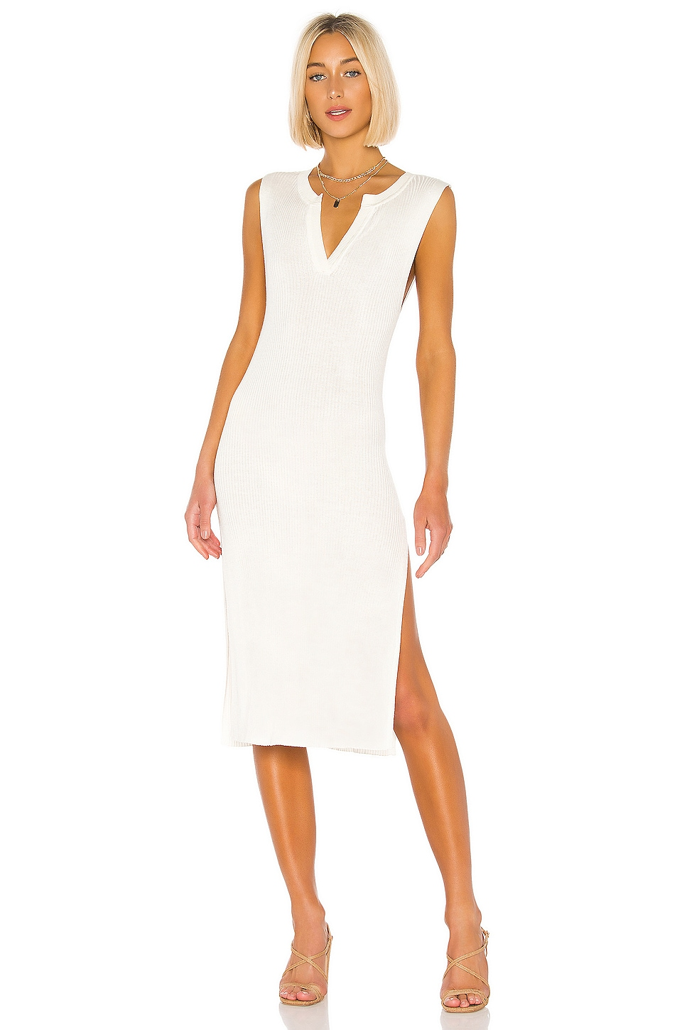 Tularosa Anacapa Dress in White