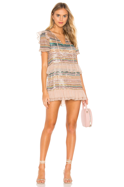 Tularosa Mason Dress in Pink Multi