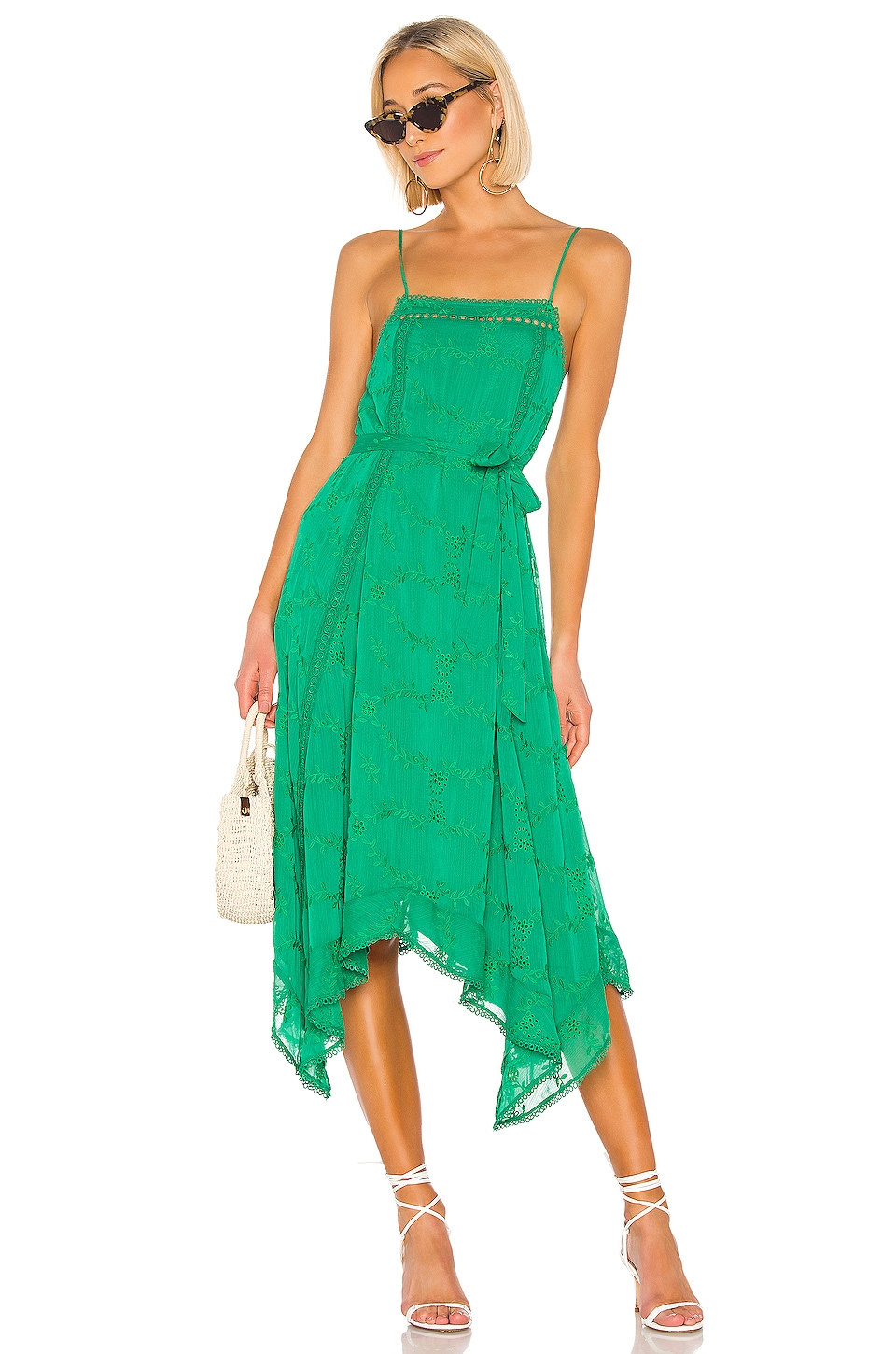 Tularosa Maxine Dress in Green