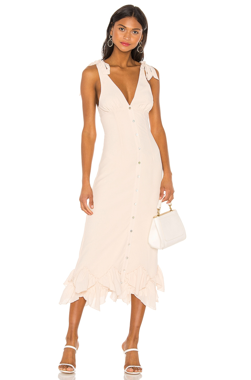 Tularosa Oakley Dress in Creme