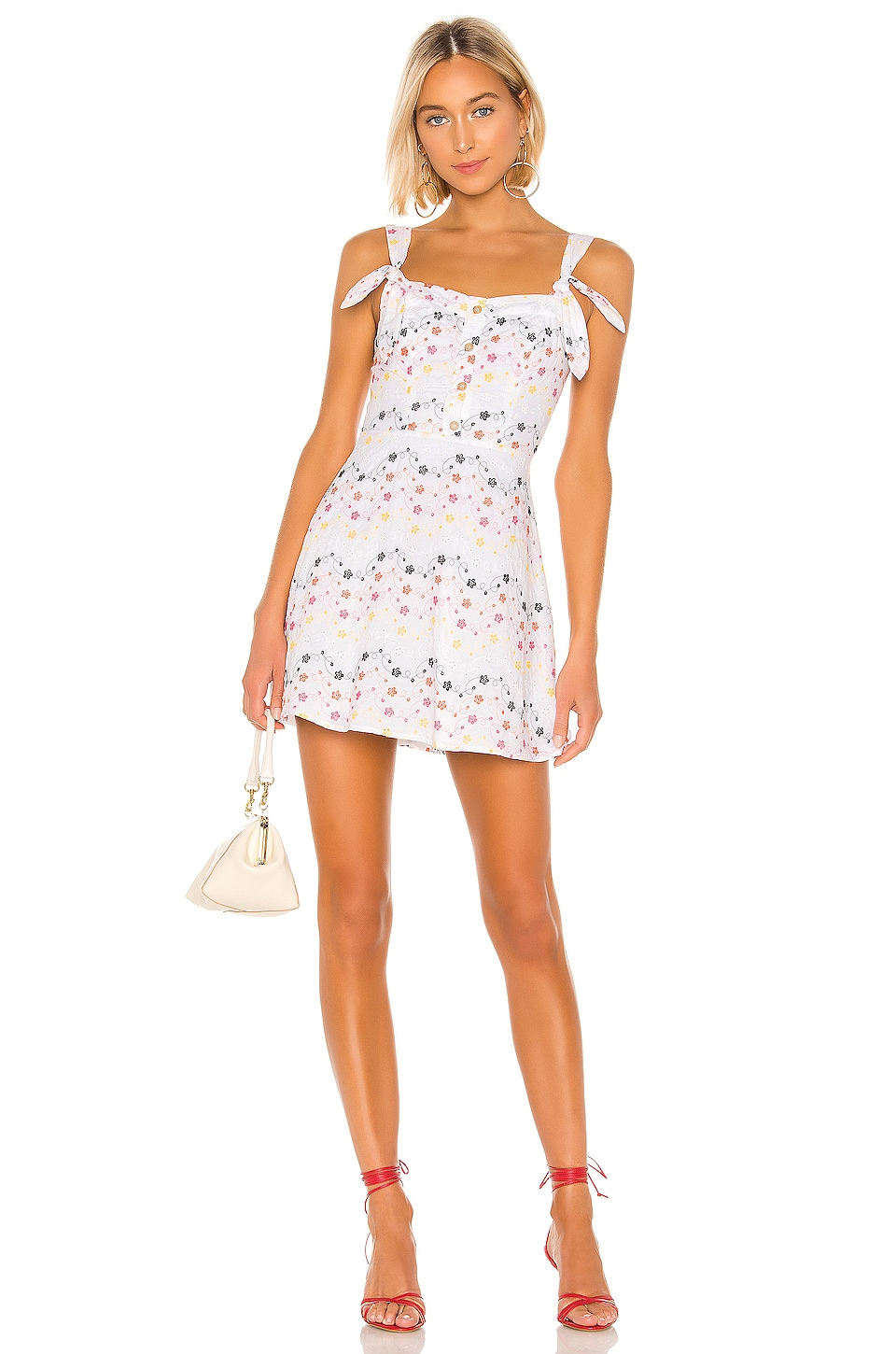 Tularosa Katalina Dress in White