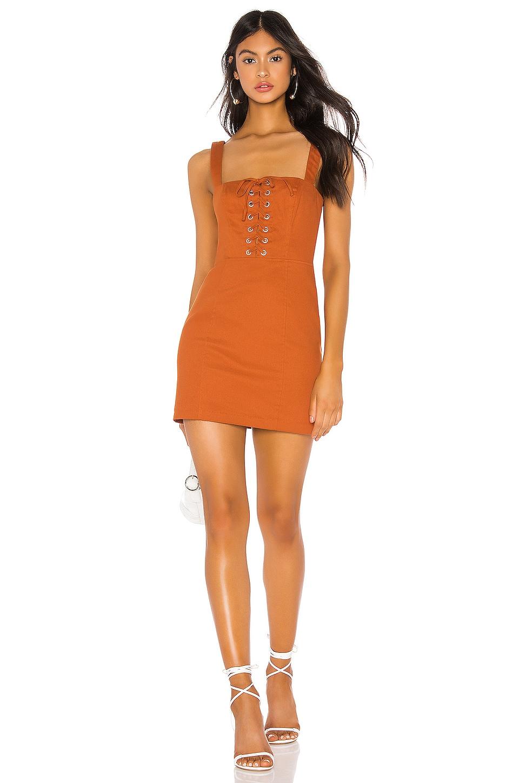 Tularosa Janis Dress in Rust