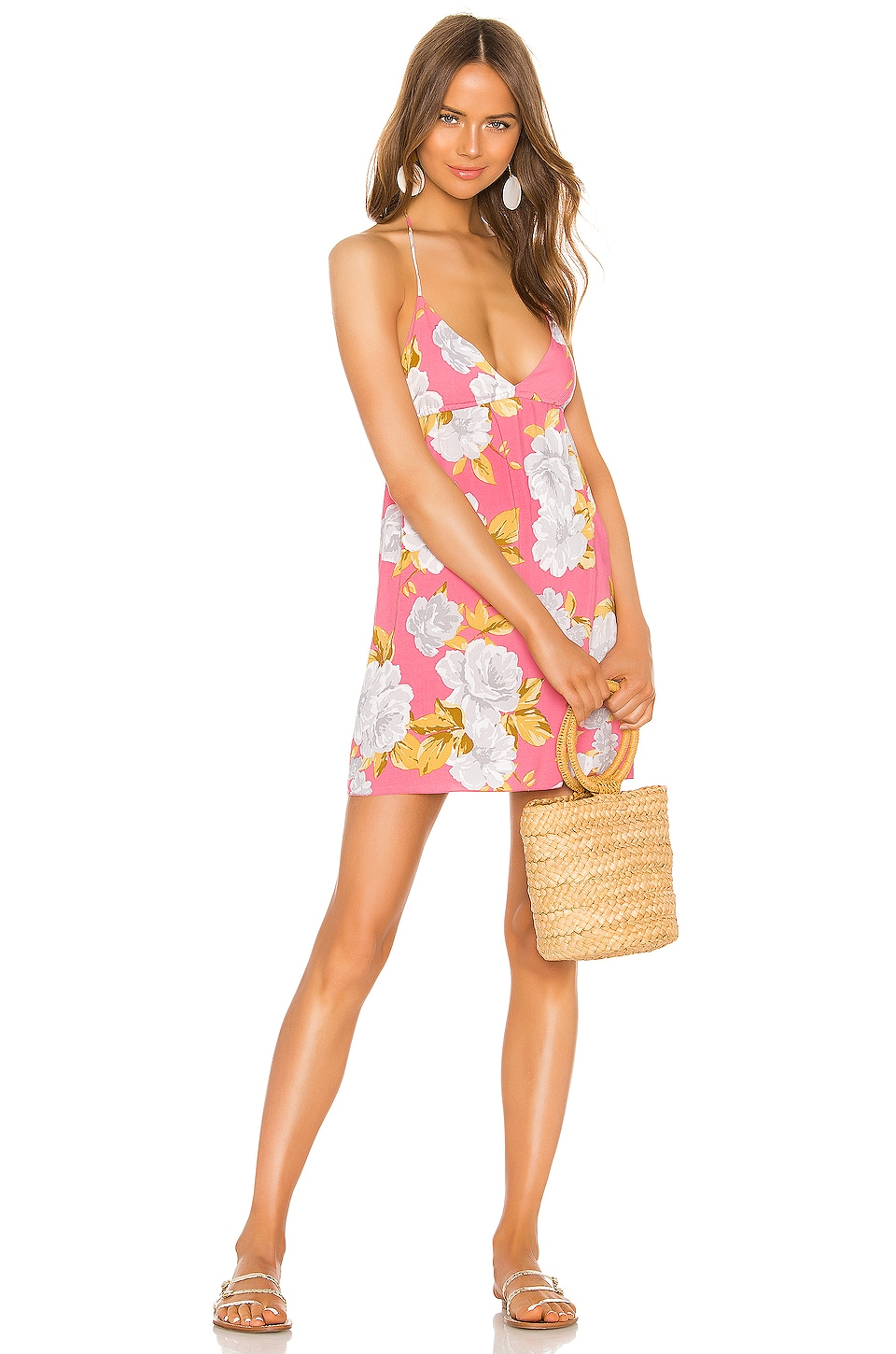 Tularosa True Dress in Pink Magnolia