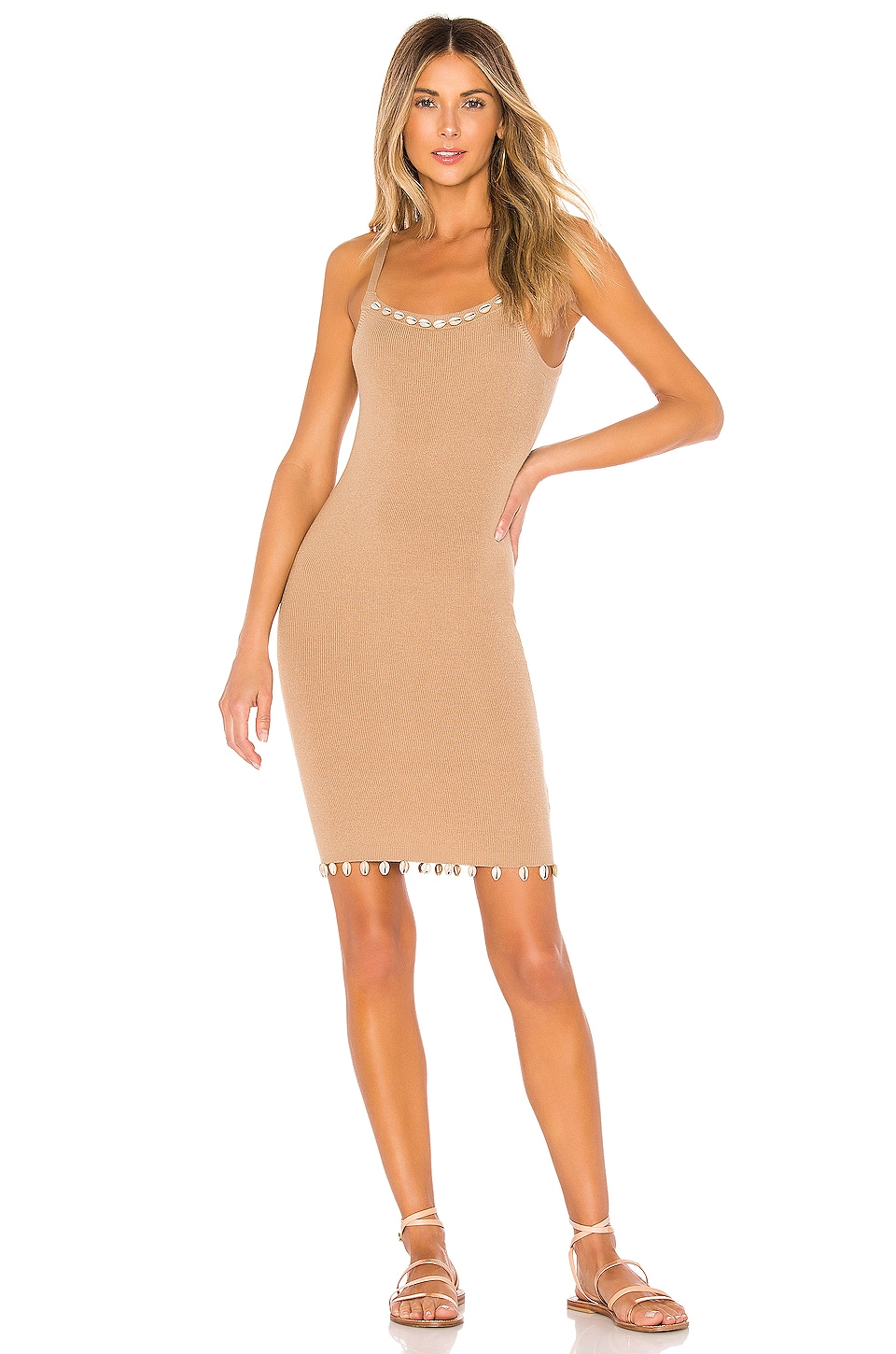 Tularosa Mauritius Dress in Natural