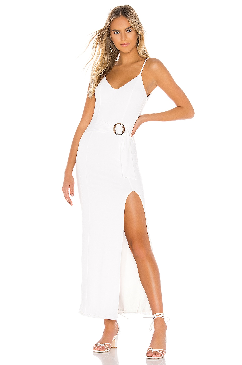 Tularosa Ellie Maxi Dress in Ivory