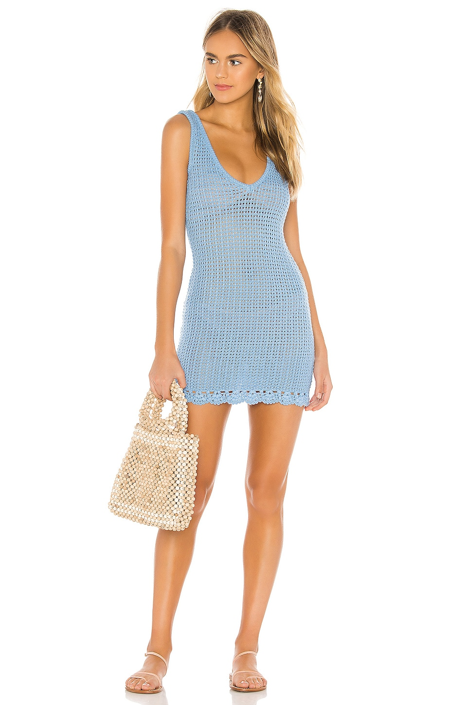 Tularosa Cyrus Dress in Blue