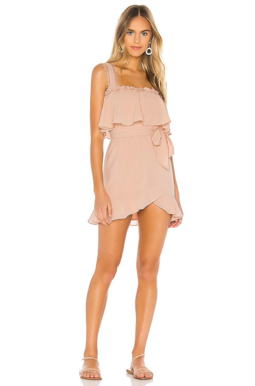 Tularosa Rome Dress in Blush