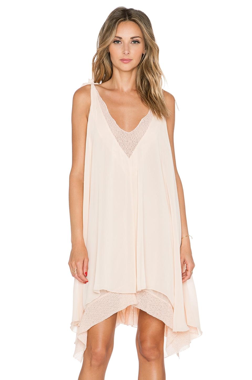 Tularosa Veda Dress in Peach Parfait