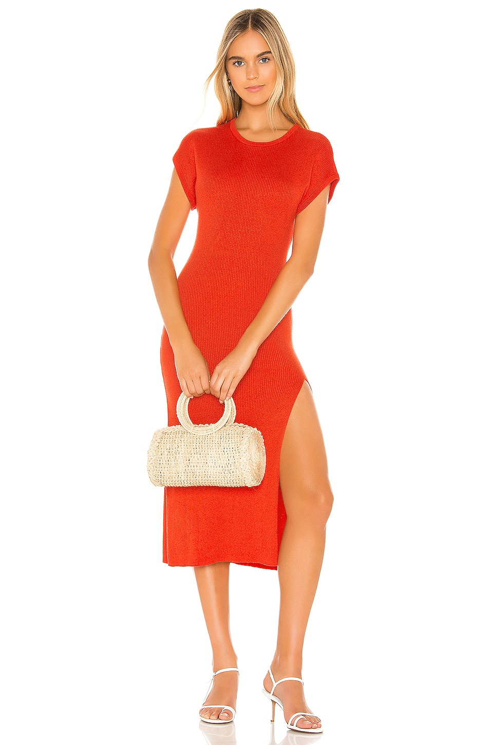 Tularosa Tori Dress in Tangerine