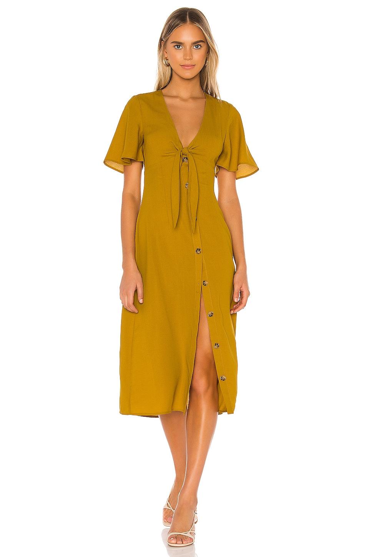 Tularosa Daya Dress in Mustard