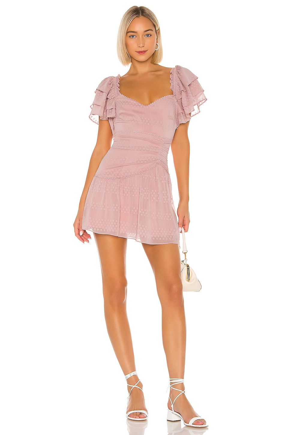 Tularosa Lilou Dress in Petal Pink