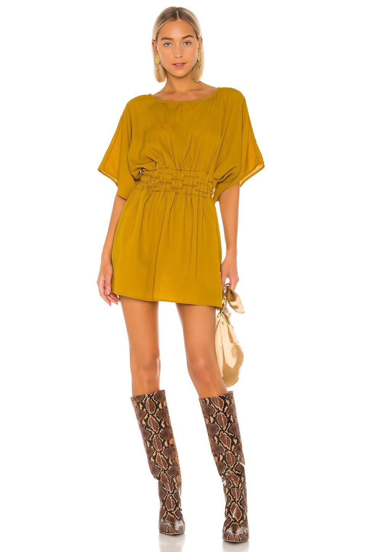 Tularosa Sienna Dress in Mustard
