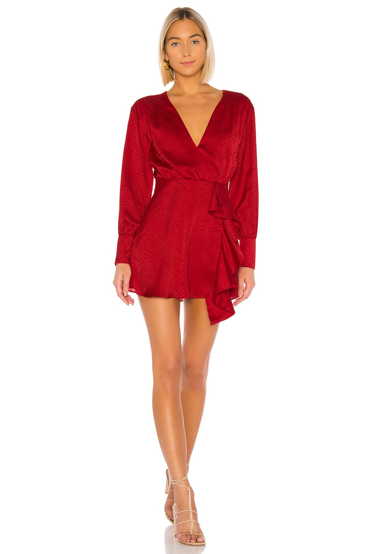 Tularosa Caleb Dress in Red