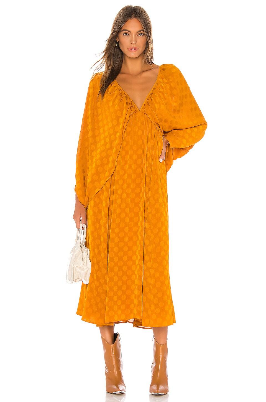 Tularosa Nola Midi Dress in Copper